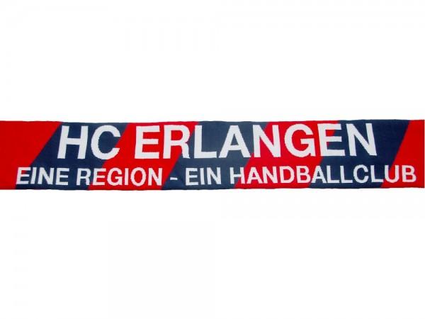 HC Erlangen Jacquardschal | Fan Schal blau/rot/weiß | onesize