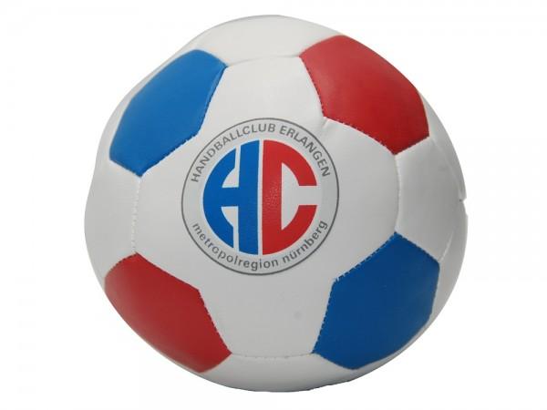 HC Erlangen Squeeze-Ball rot/weiß/blau | onesize