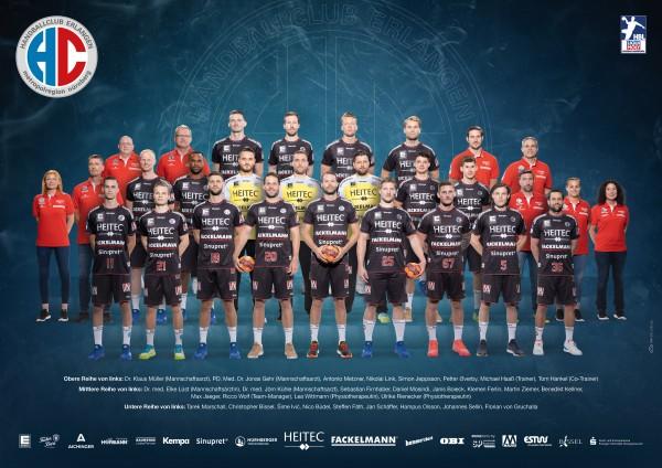 HC Erlangen Mannschaftsposter
